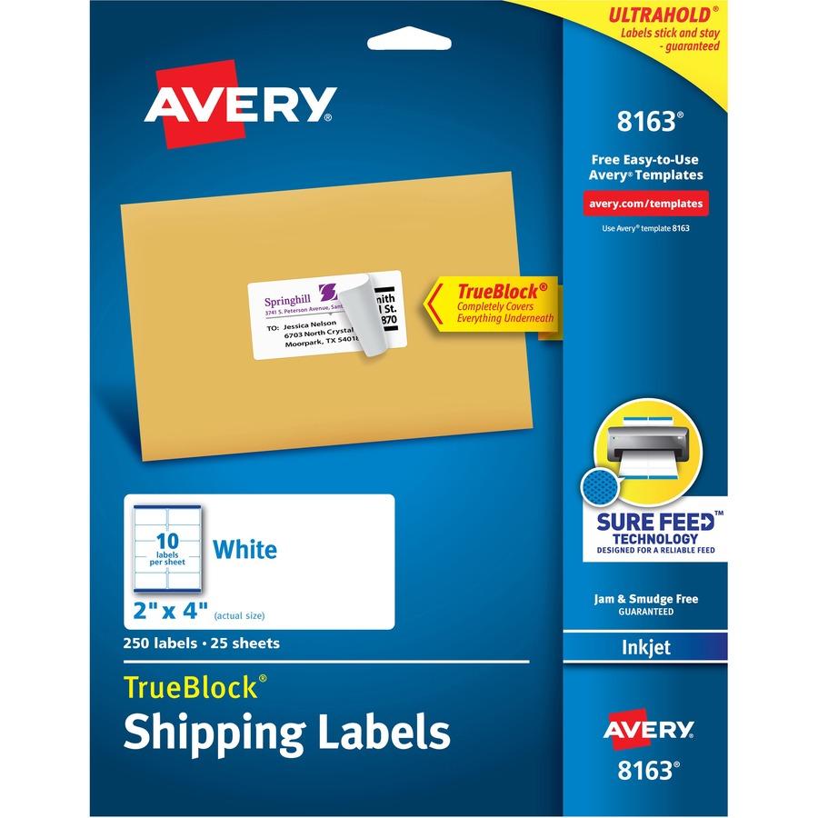 Avery 8163 Avery Address Label Ave8163 Ave 8163 Office Supply Hut