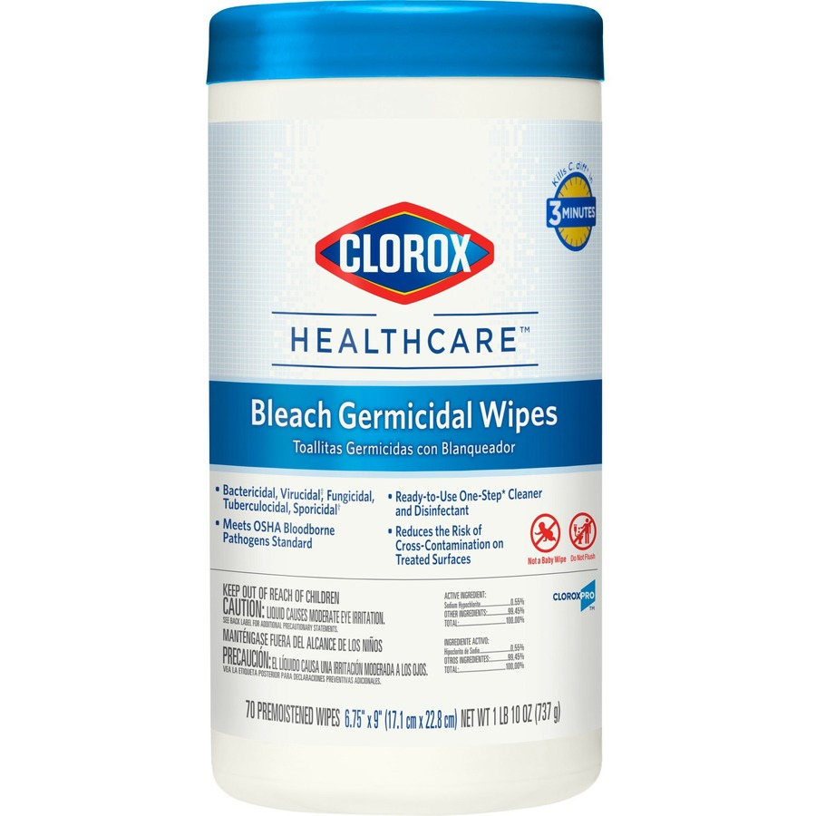 Bulk Discounts On Clorox Bleach Germicidal Wipe