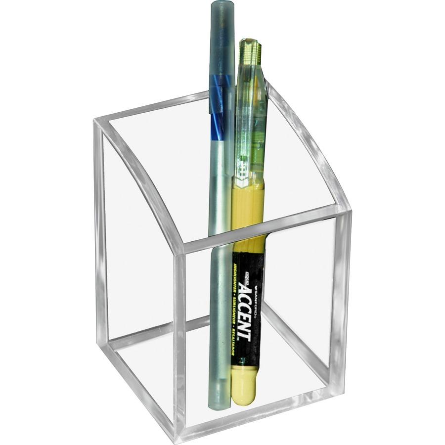 Kantek Acrylic Pen Cup 1 Each Clear