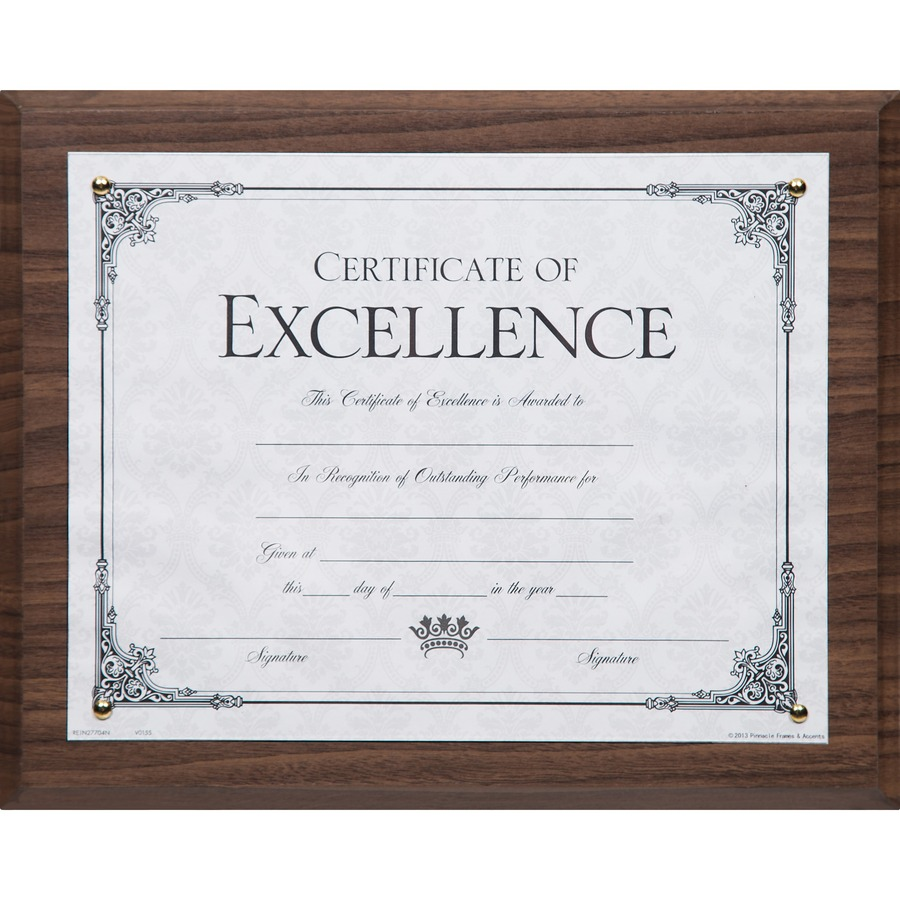 Dax Solid Wood Award Plaques Icc Business Products Office