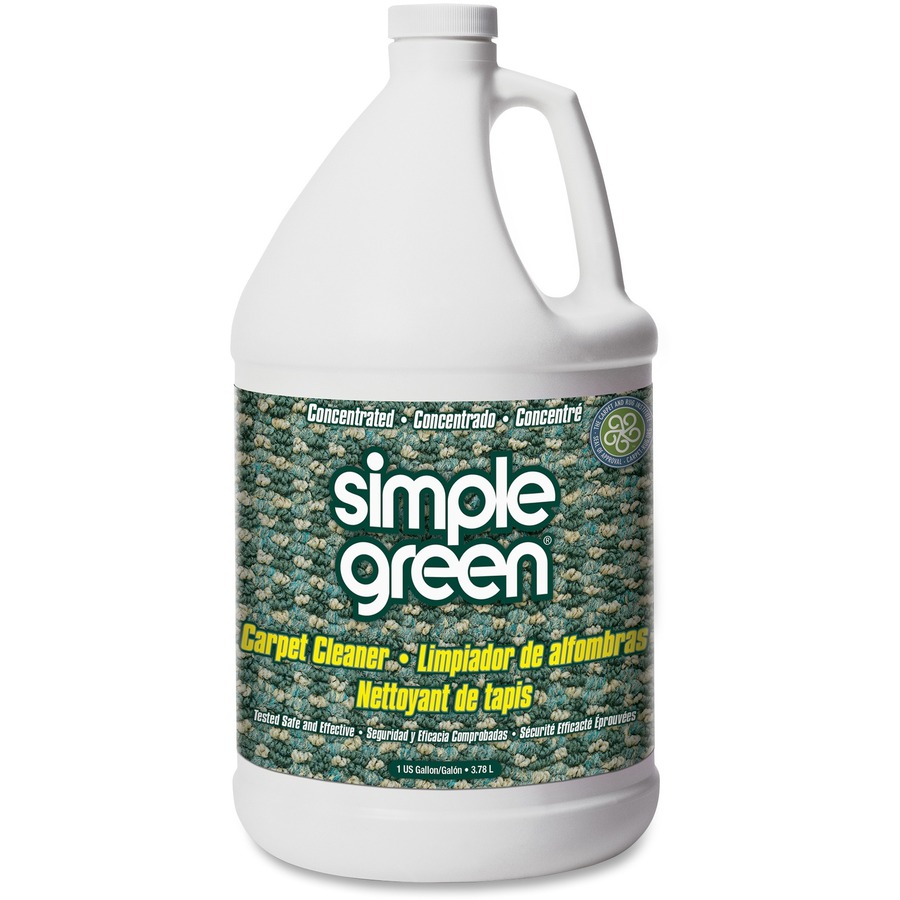 Green Rug Clean Dallas: Simple Green Concentrated Carpet Cleaner; SMP 15128