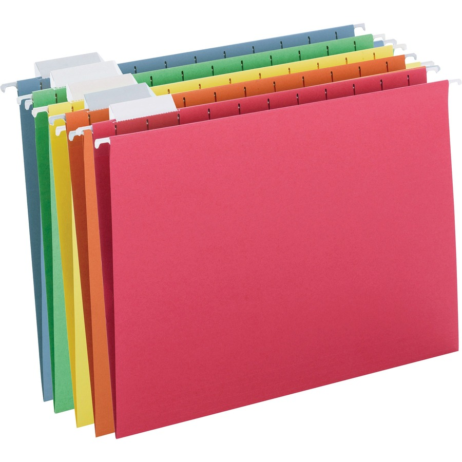 Smead Colored Hanging Folders With Tabs Smd64059