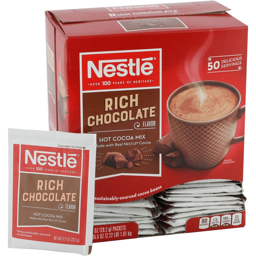 Nestle Professional Rich Hot Chocolate Packets NES25485