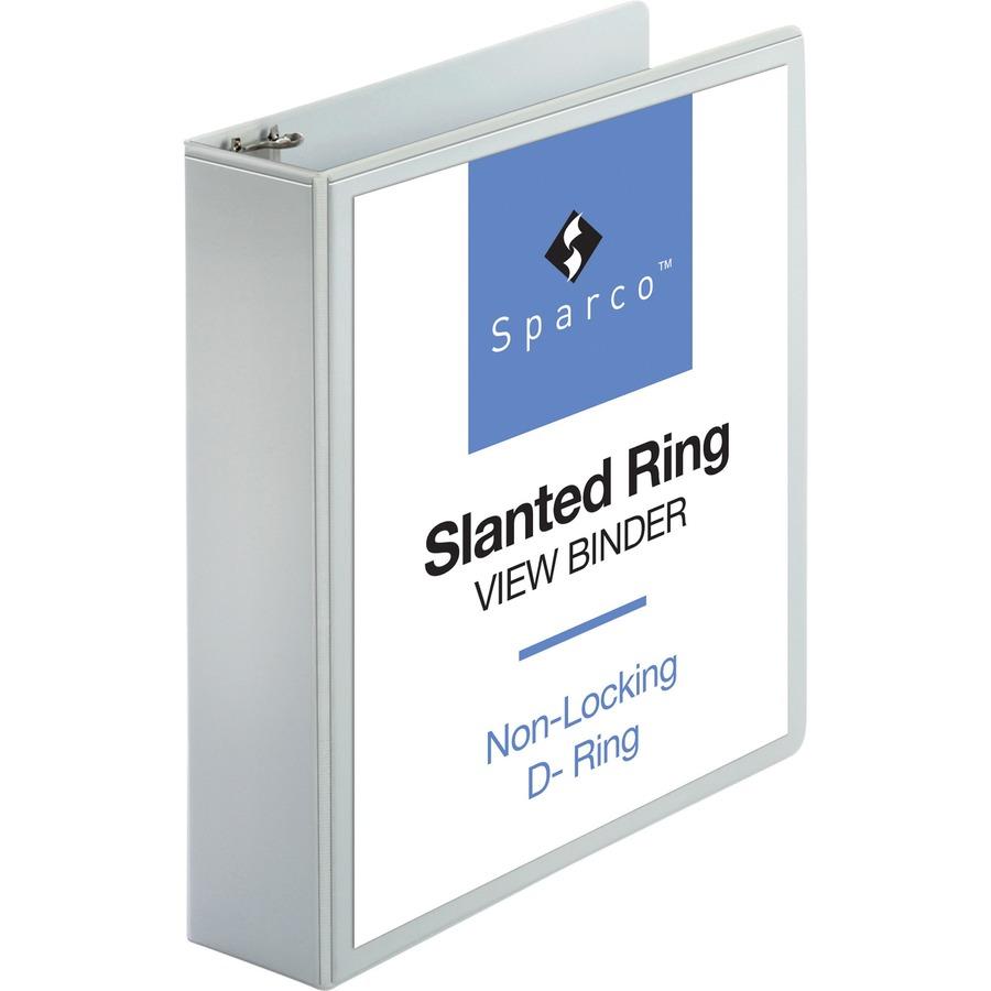 Sparco Slanted Ring Presentation Binder Spr09501