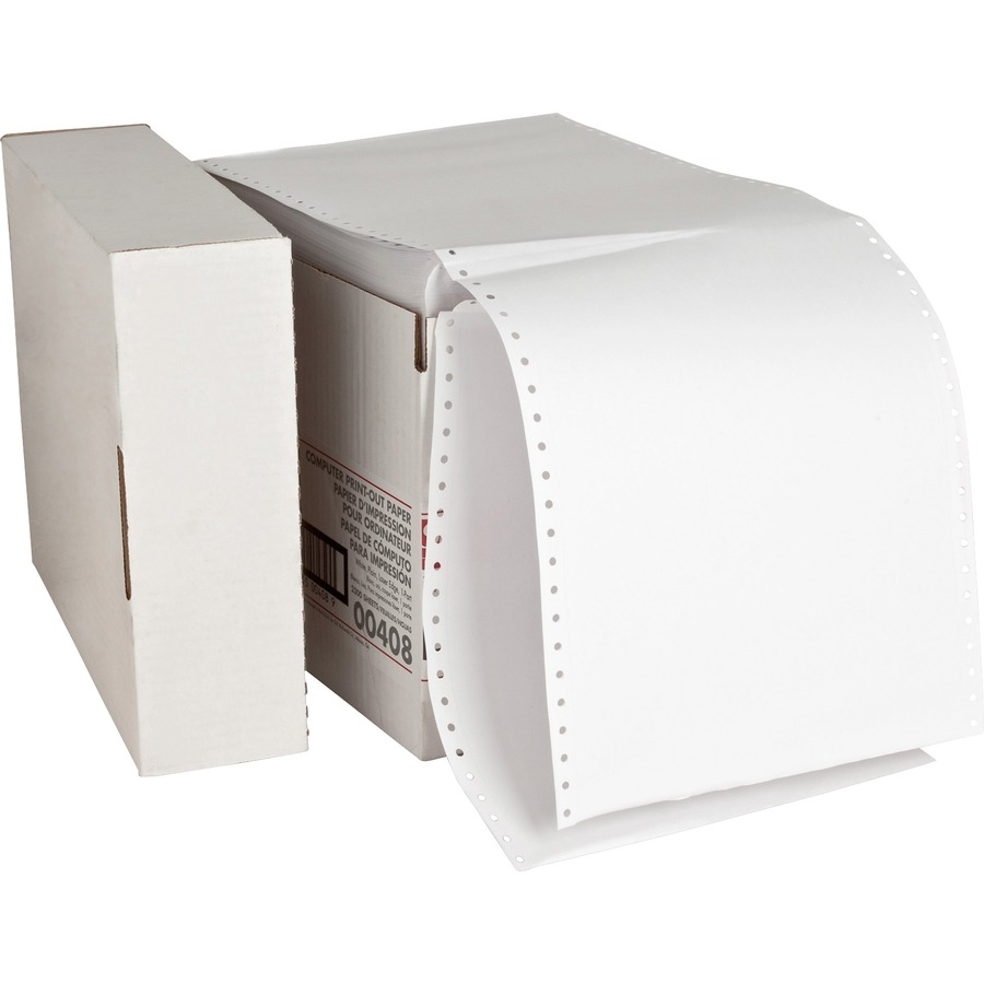 Sparco Perforated Plain Computer Paper Spr00408
