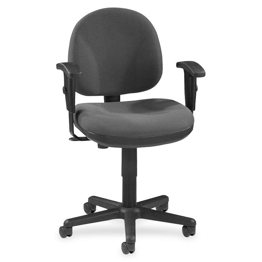 Lorell Millenia Pneumatic Adjustable Task Chair Gray