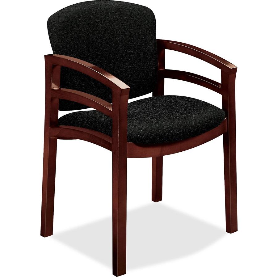 HON Invitation 2112 Double Rail Arm Chair