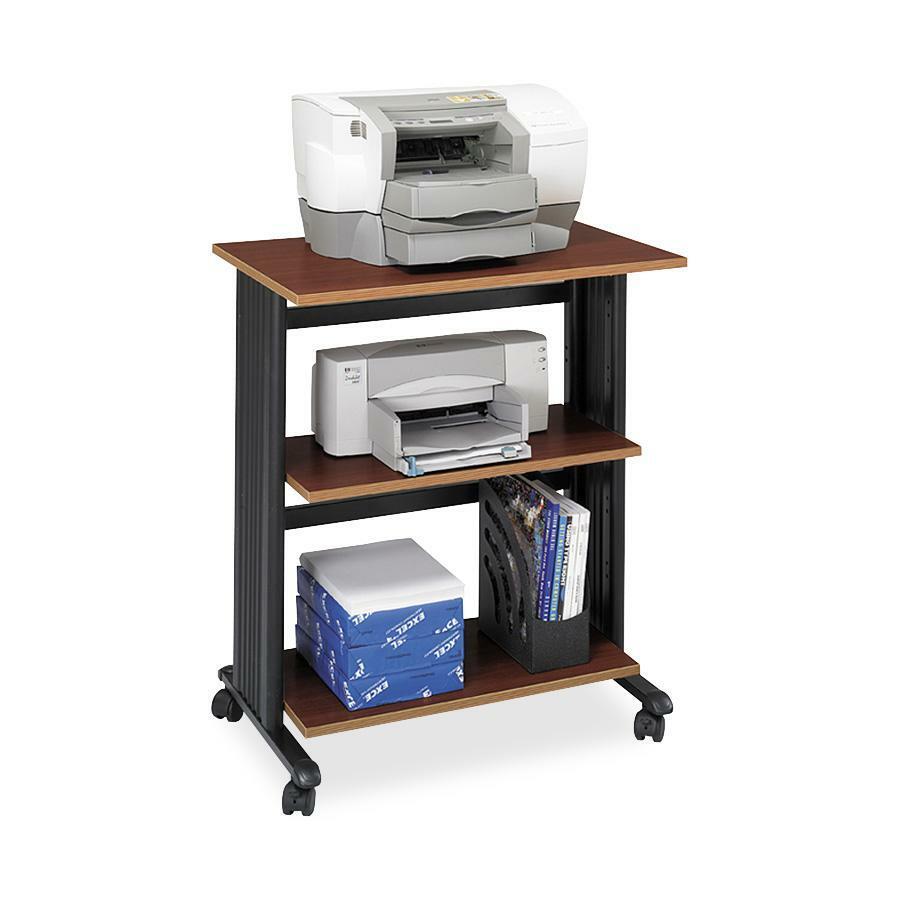 safco muv three level adjustable printer stand. Black Bedroom Furniture Sets. Home Design Ideas