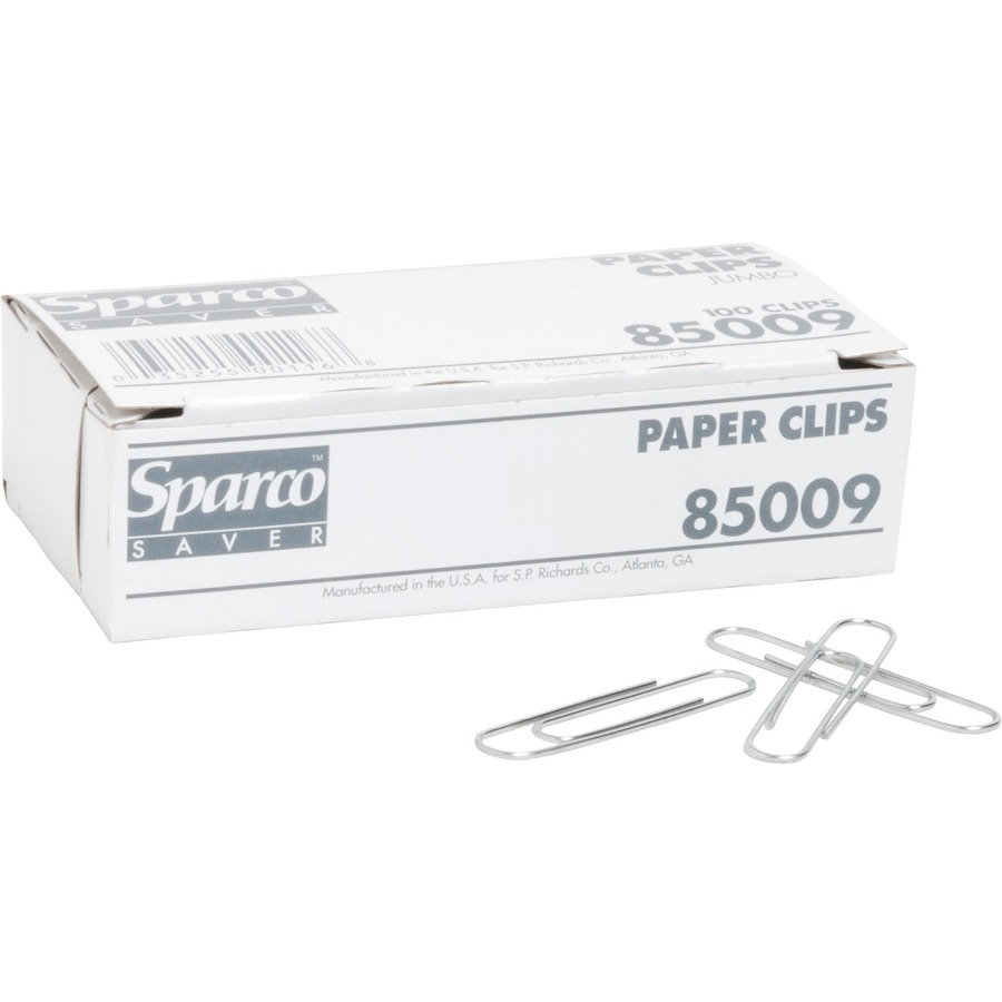 Sparco Brand Paper Clips Spr85009
