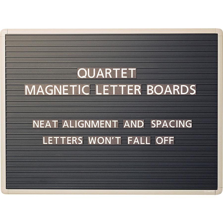 quartet magnetic letter board sign qrt901m. Black Bedroom Furniture Sets. Home Design Ideas