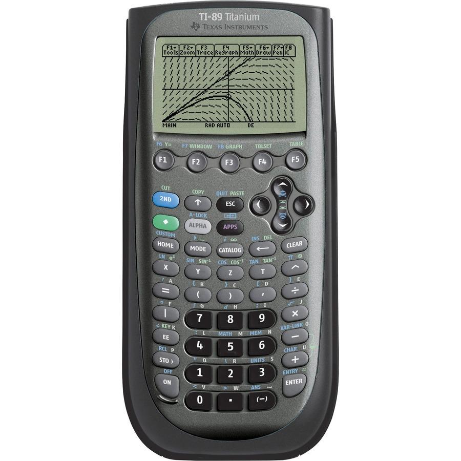 Texas Instruments TI-89 Titanium Graphing Calculator - Date