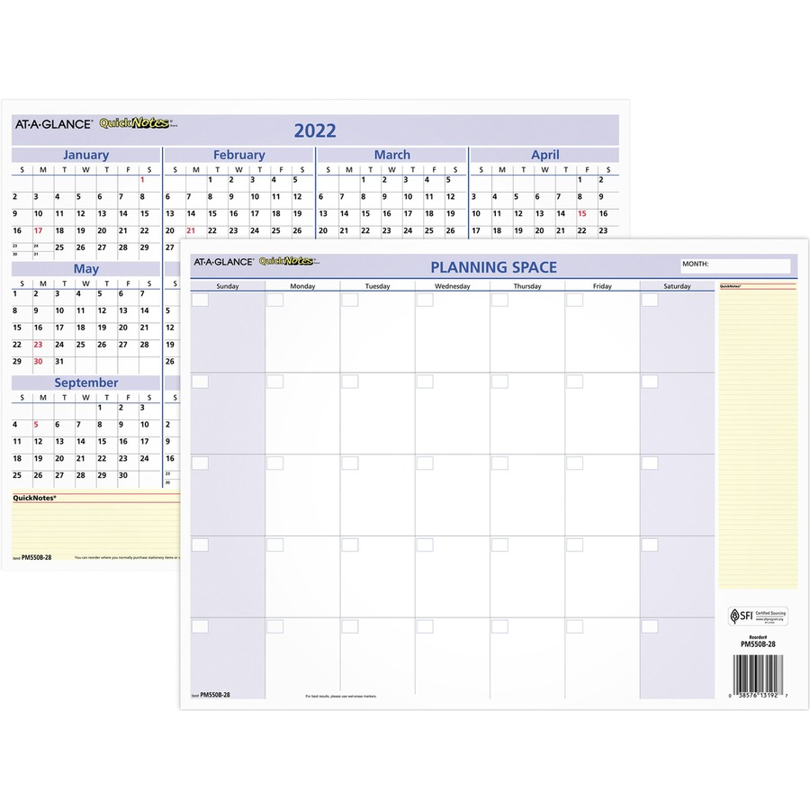 At A Glance Calendar.At A Glance Quicknotes Mini Erasable Yearly Wall Planner January 2020 Till December 2020 12 45 64 X 15 45 64 Wall Mountable Erasable
