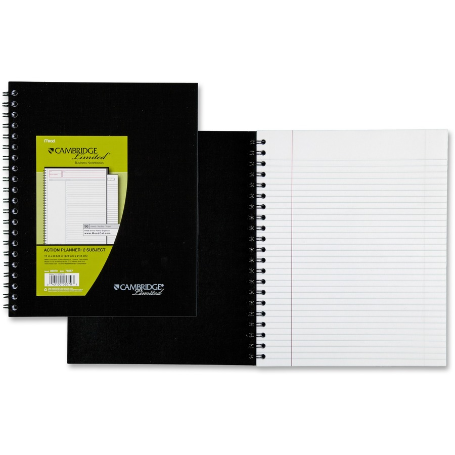 Mead Wirebound Legal Ruled Business Notebooks Letter Mea06070