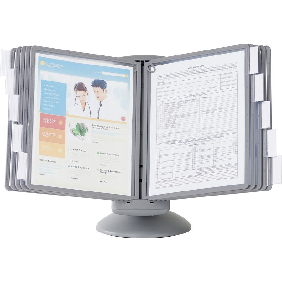 Durable 5539 37 Durable Sherpa Motion Desk Reference