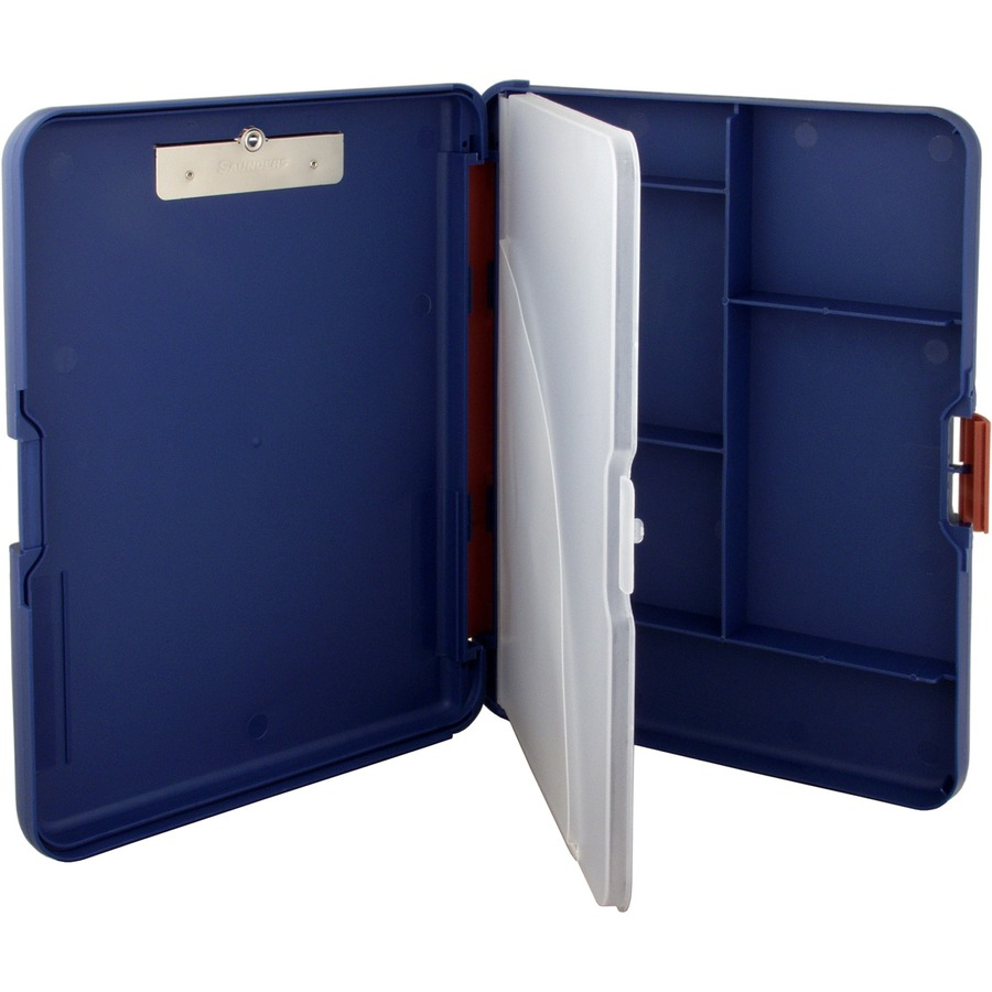 Saunders WorkMate II Divided Sectn Poly Clipboard SAU00475