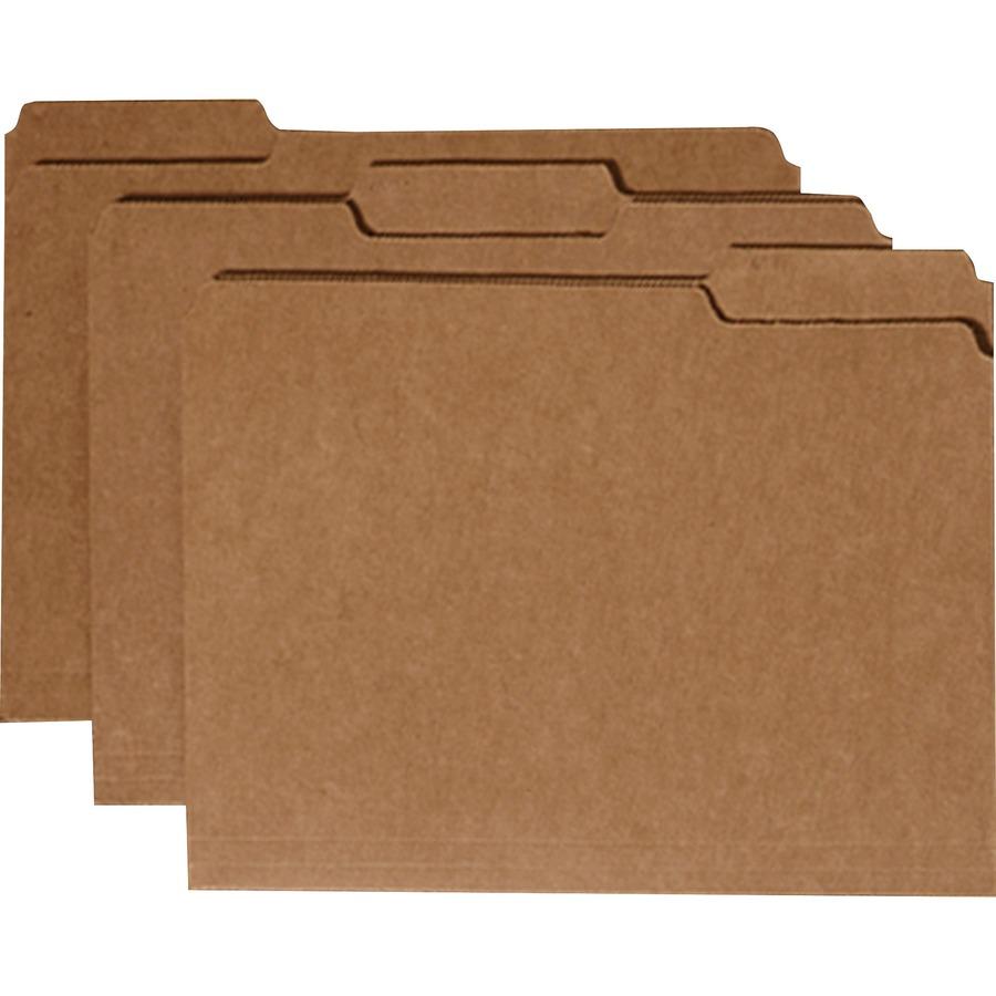 SKILCRAFT Medium Kraft Paperboard File Folder
