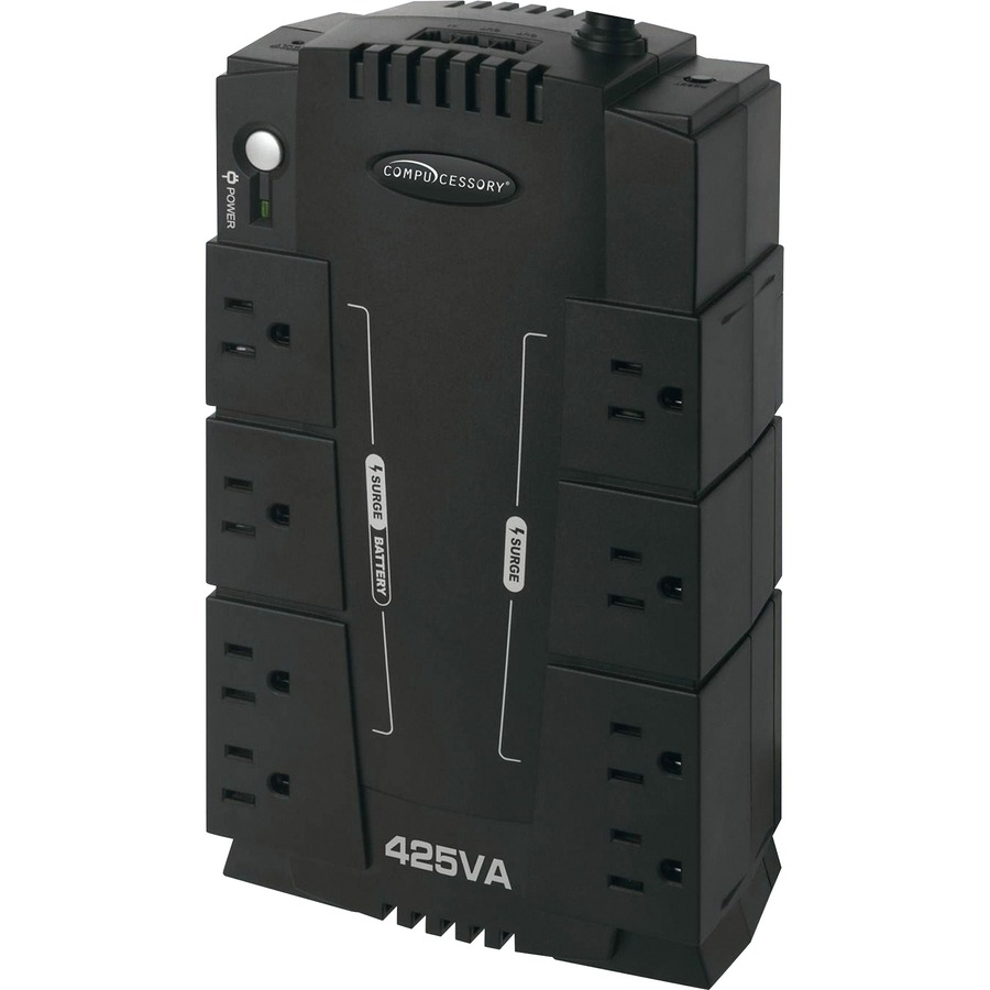 Compucessory 8 Outlet 230W UPS Backup System CCS25654
