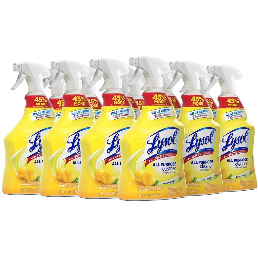 wholesale lysol lemon all purpose cleaner rac75352ct in bulk