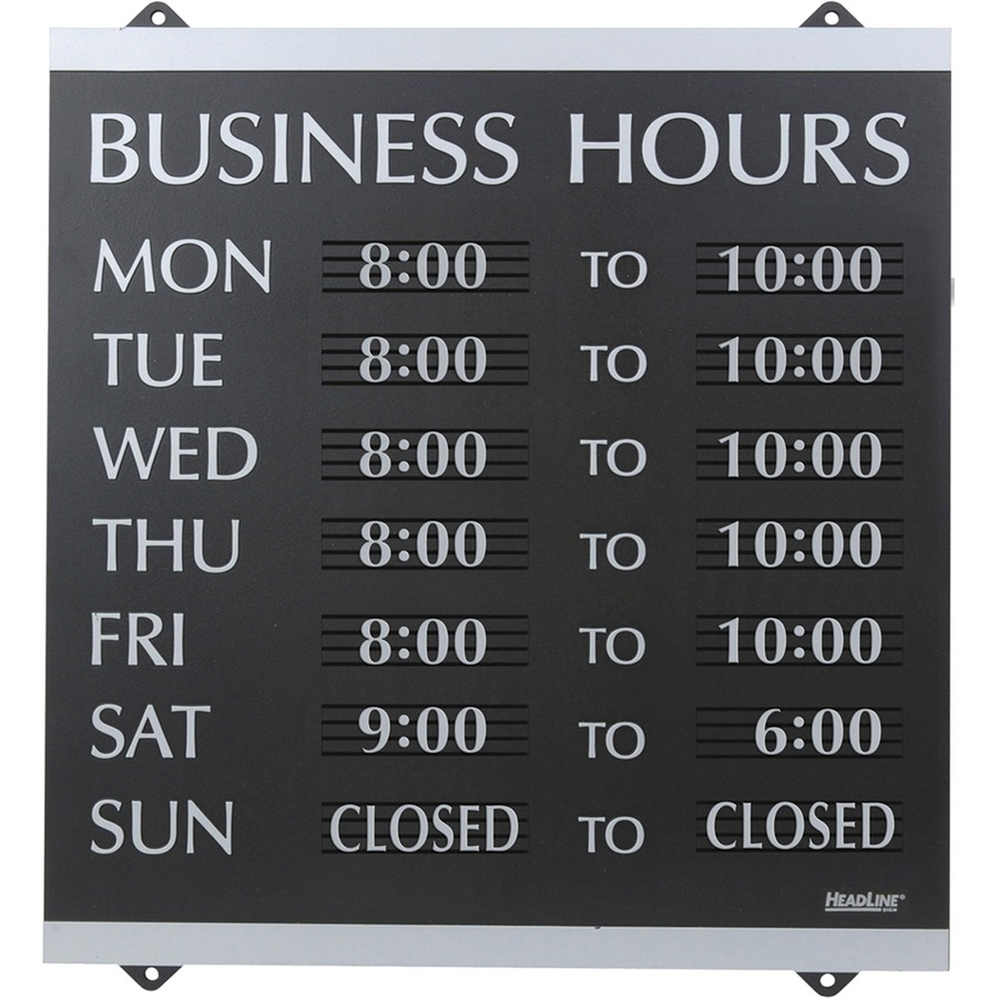 US Stamp amp Sign Century Business Hours