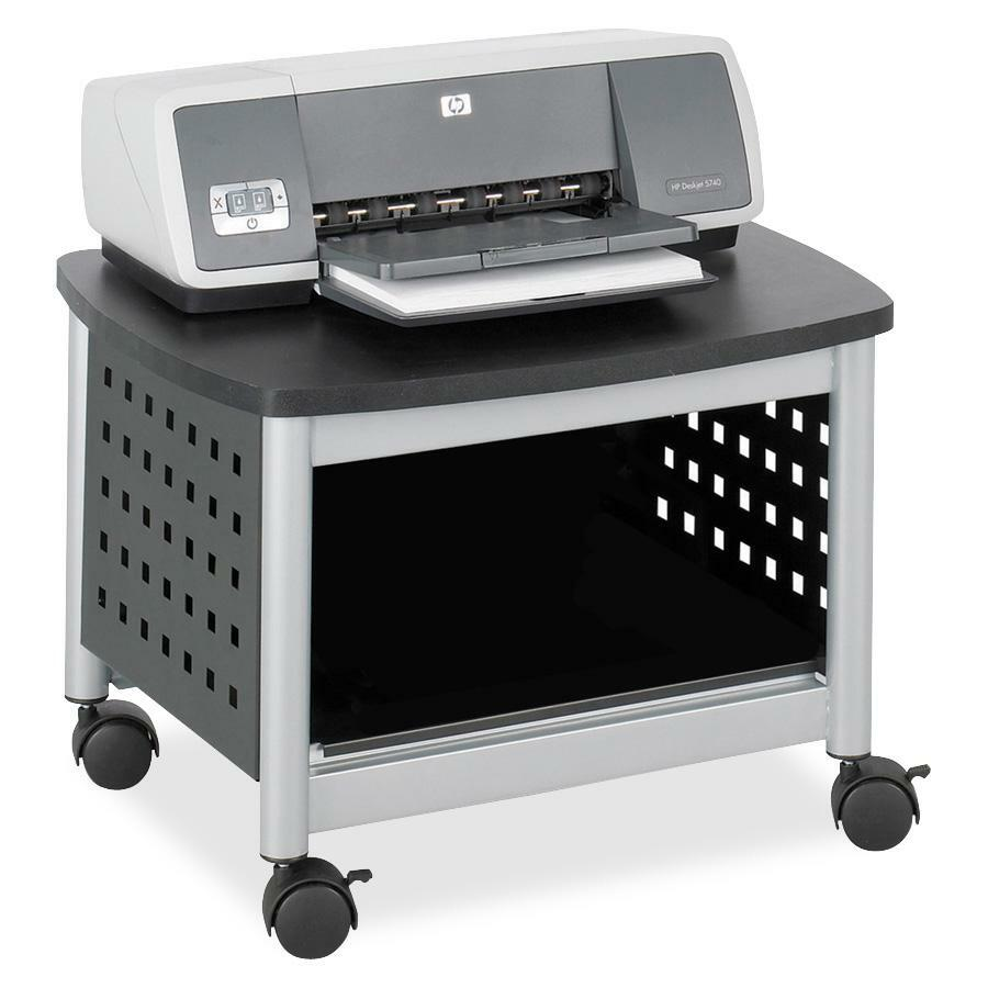 Safco Scoot Underdesk Printer Stand Saf1855bl
