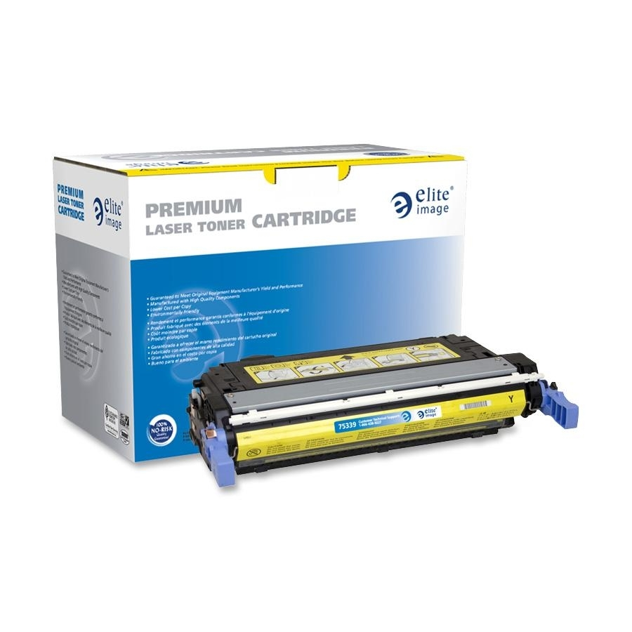 GENUINE HP CB402A 642A Yellow Toner Cartridge LaserJet CP4005 NEW OEM