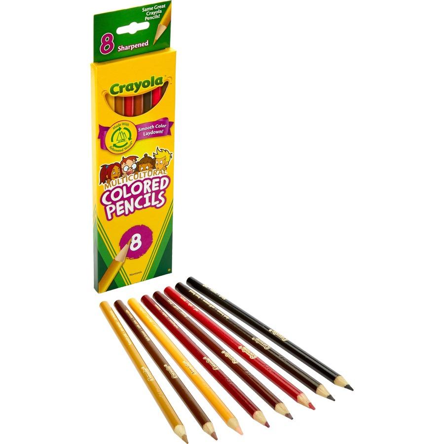 cyo684208 crayola multicultural color pencils office supply hut