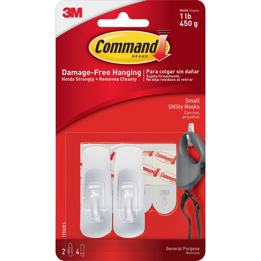 3m Command Small Removable Hook Mmm17002 Fast Shipping