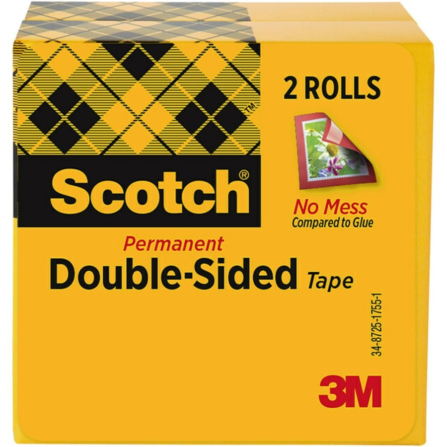 scotch permanent double sided tape 1 2 x 900. Black Bedroom Furniture Sets. Home Design Ideas