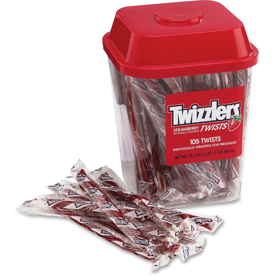 Hrs51902 Twizzlers Hershey Co Strawberry Candy Twists Office