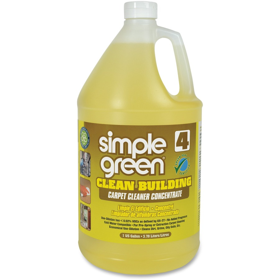 Simple Green Clean Building Carpet Cleaner Concentrate Savings