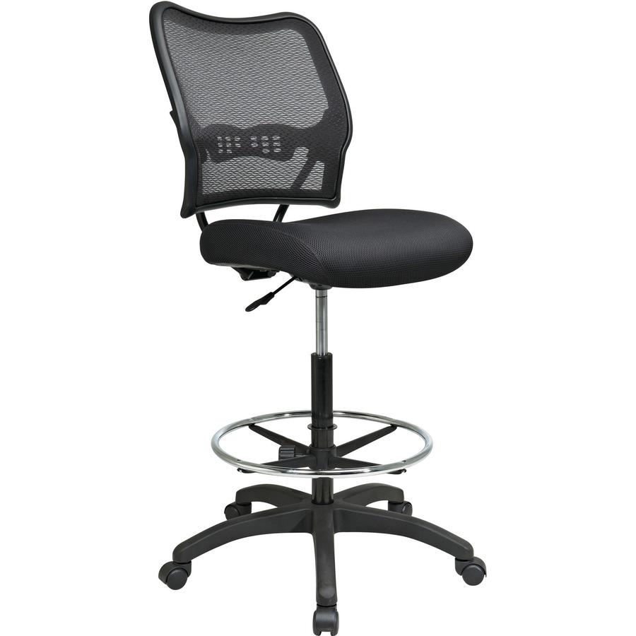 Office Star Air Grid Mesh Back Drafting Chair OSP1337N20D