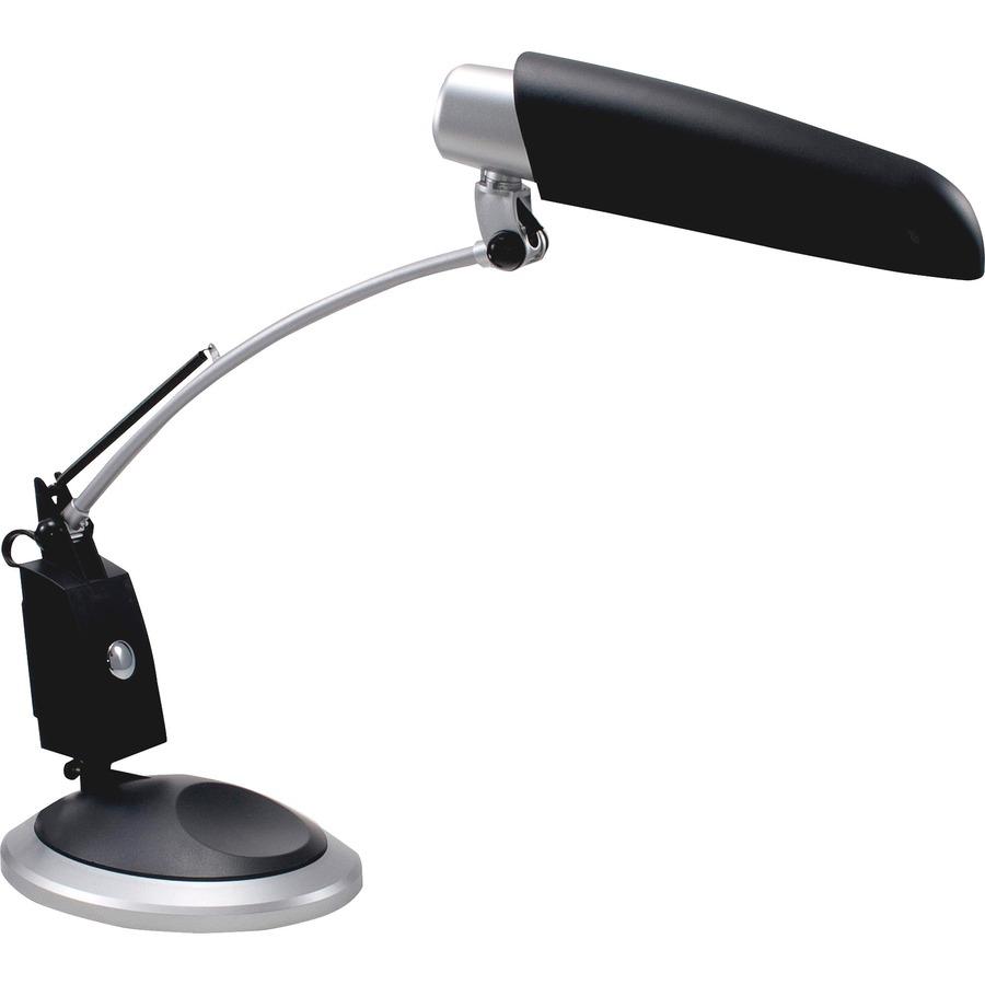 ledu full spectrum desk lamp 1 x 13 w fluorescent bulb swivel arm. Black Bedroom Furniture Sets. Home Design Ideas