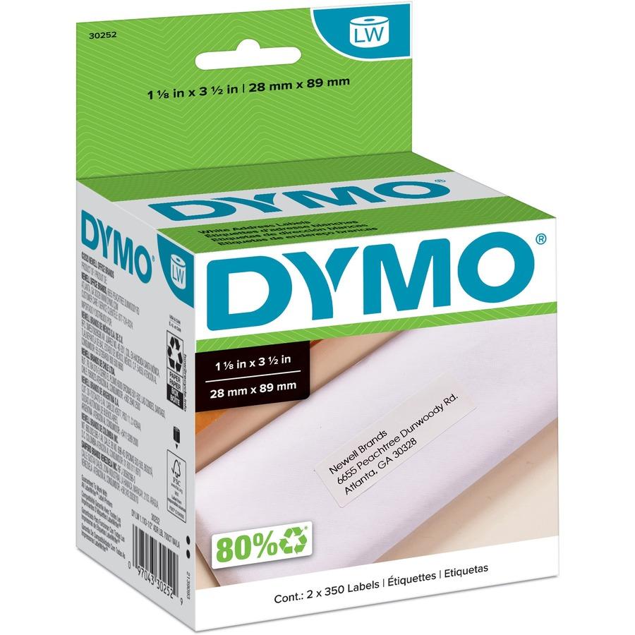 Spiksplinternieuw Dymo 30252, Dymo 30252 Address Label, DYM30252, DYM 30252 - Office WS-36