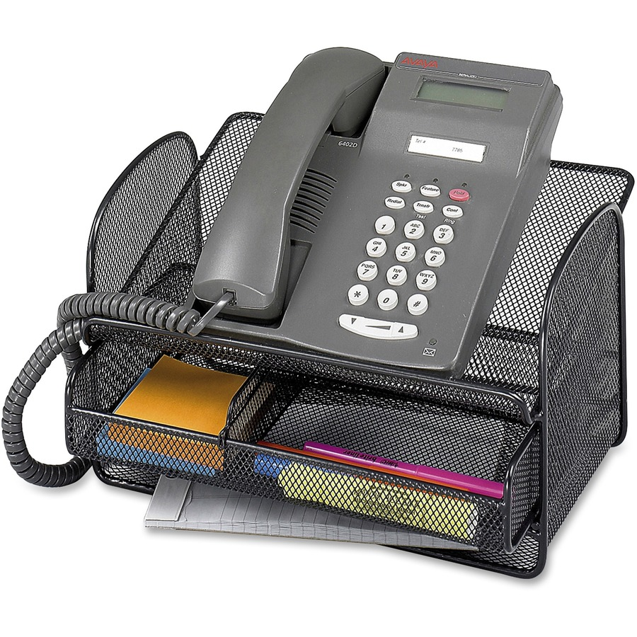 Safco Onyx Mesh Telephone Stand Saf2160bl