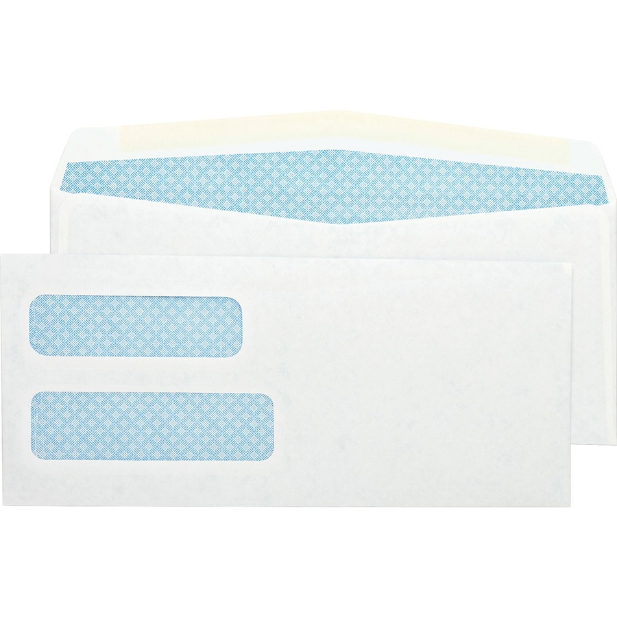 Spr11980 sparco double window envelope zuma for Window envelopes