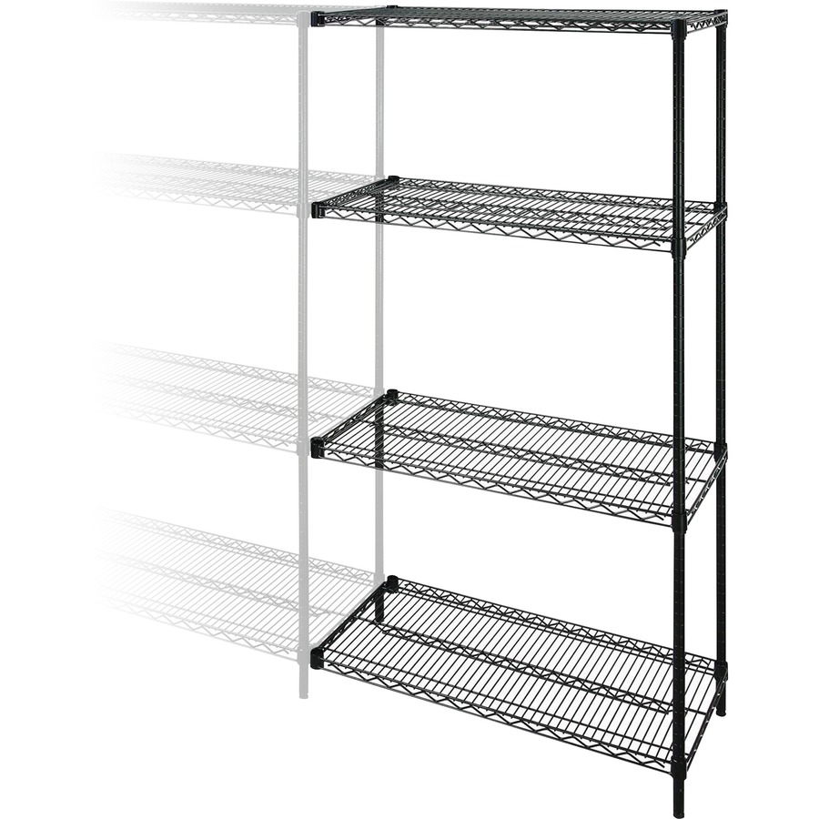 Lorell Industrial Adjustable Wire Shelving Add-On-Unit - ICC ...
