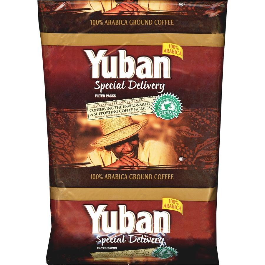Kraft Yuban Filter Pack Coffee Krfgen86307 Low Pricing