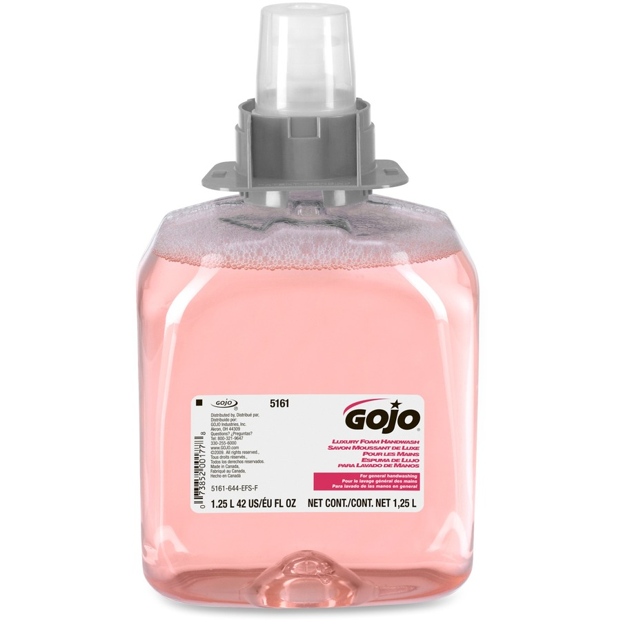 Bulk Gojo Luxury Foaming Handwash Dispenser Refill Goj516103ct