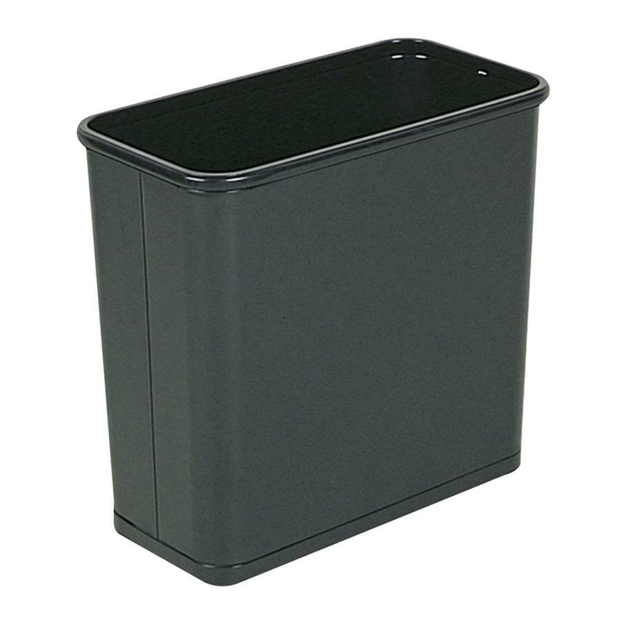Rubbermaid Fire Safe Rectangle Wastebasket