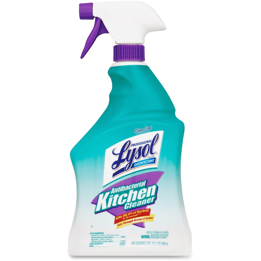 Big Savings On Lysol Antibacterial Kitchen Cleaner