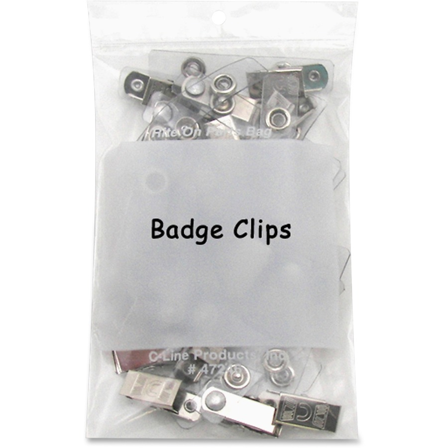 C-Line Write-On Reclosable Small Parts Bags - 4