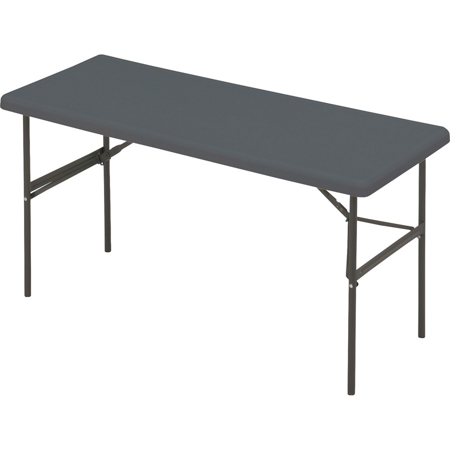 iceberg indestructable too 1200 series folding table icc business
