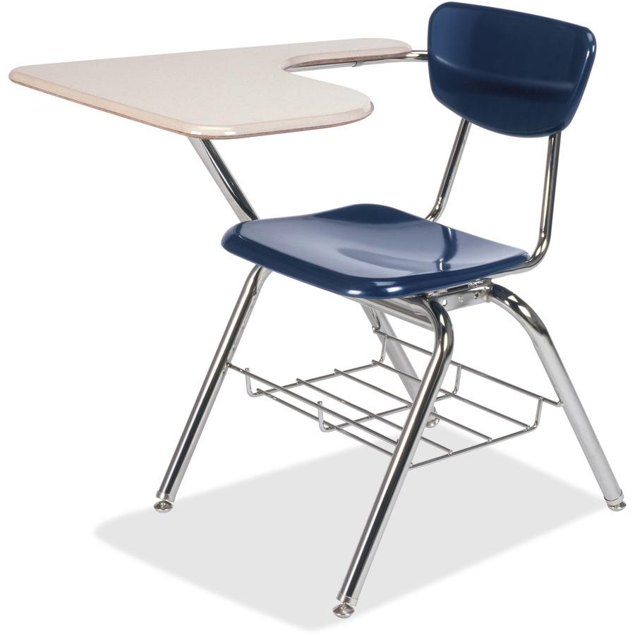 Tablet Arm Chair >> Vir3700brc5196 Virco Martest 3700br Tablet Arm Chair Desk Four