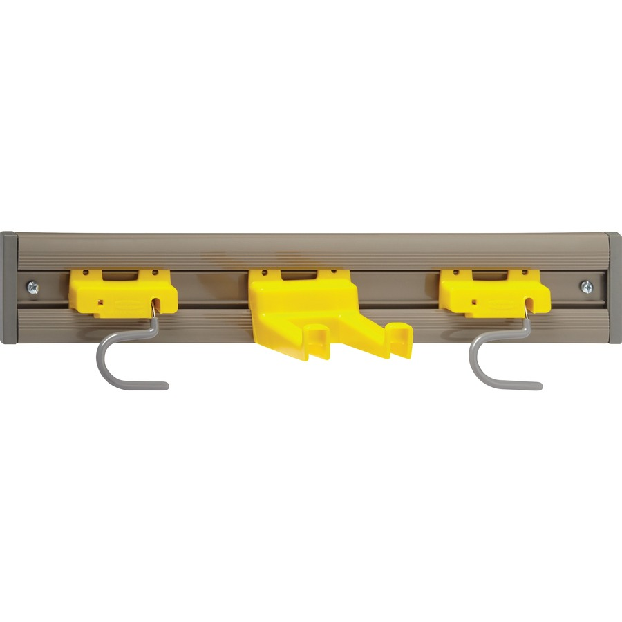 Rubbermaid Commercial Closet Organizer Tool Holder Kit Rcp 199200gy Rrofficesolutions Com