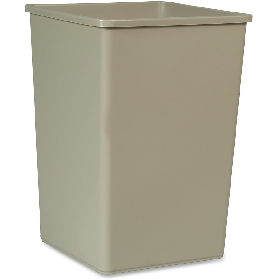 Rubbermaid Commercial 35 Gal Untouchable Sqre Container Rcp395800bg