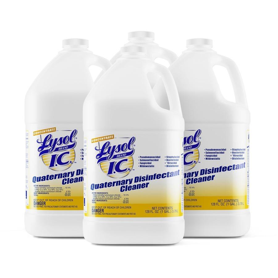Lysol Quaternary Disinfectant Cleaner - Liquid - 1 gal (128