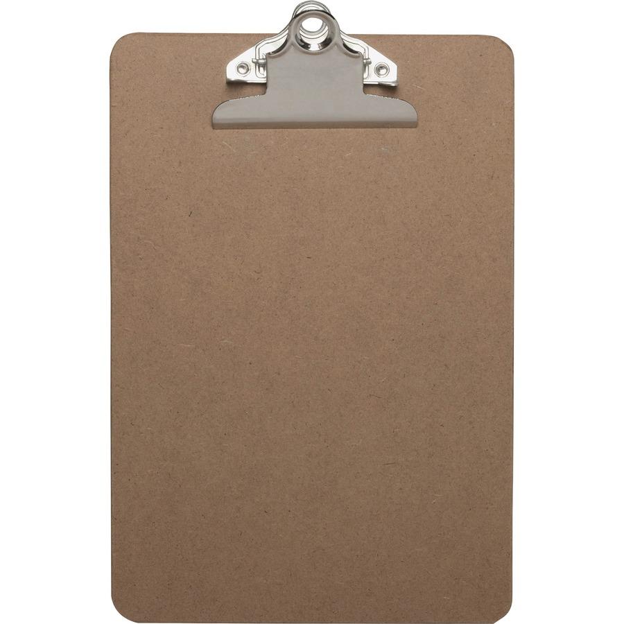 Business Source Standard Metal Clip Clipboard Yuletide