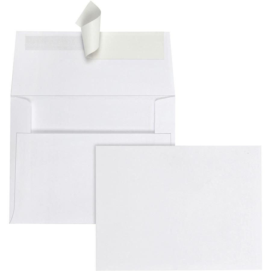 Quality Park Greeting Card/Invitation Envelopes QUA10740