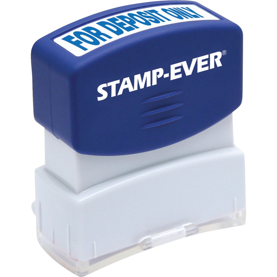Stamp Ever Pre Inked For Deposit Only USS5955