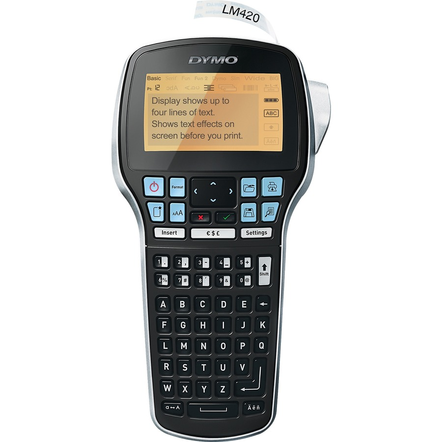 Dymo LabelManager 420P Portable Labelmaker - Tape - 0 24
